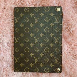 LV classic monogram iPad case